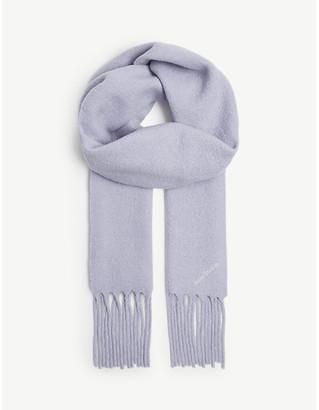 Acne Studios Villy wool-blend scarf