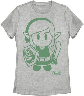 Nintendo Juniors' Legend Of Zelda Links Awakening Link Graphic Tee