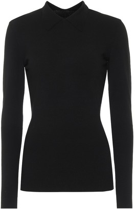Alaia Wool-blend sweater