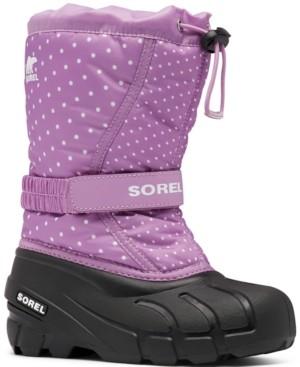 Sorel Children's Flurry Print Boots Women's Shoes