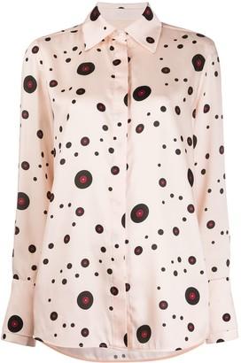 Victoria Victoria Beckham Record Polka Dot shirt