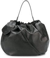 Simone Rocha gathered bow tote bag - women - Leather - One Size