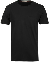 Nudie Jeans Ove Black Organic Cotton T-shirt