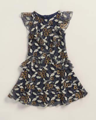 Laundry by Shelli Segal Girls 7-16) Lace Ruffle Fit & Flare Dress