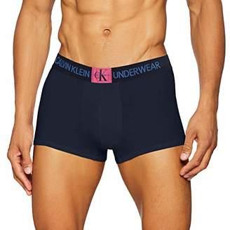Calvin Klein Men's Trunk Boxer Shorts, Blue (Shoreline W/Thirll Patch 0Pp)