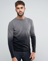 Calvin Klein Crew Neck Sweater in Ombre