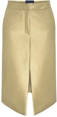 Zoe Corsellis Gold A-Line Skirt