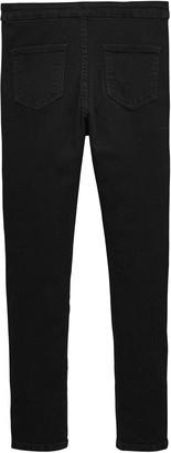 Very Girls High Waisted Skinny Jeans - Black