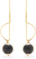 Marni Sphere-drop earrings