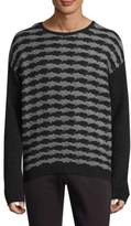 John Varvatos Knitted Crewneck Sweater