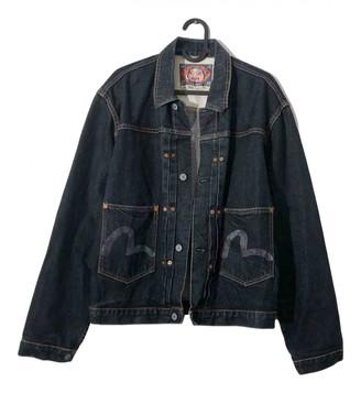 Evisu Navy Cotton Jackets