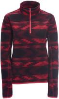 Printed Half-Zip Fleece Jacket