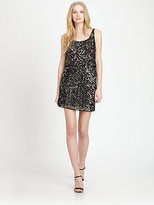 Alice + Olivia Gabby Beaded Blouson Dress