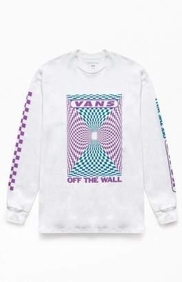 Vans Kaleidoscope Check Long Sleeve T-Shirt