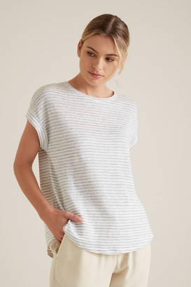 Seed Heritage Rolled Cuff Stripe Tee