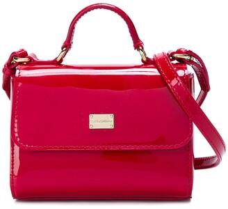 Dolce & Gabbana Varnished Logo Bag