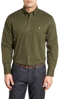 Nordstrom Smartcare TM Traditional Fit Twill Boat Shirt (Regular & Tall)