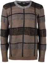 Fendi patchwork jumper
