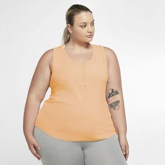 Nike Women's Henley Tank (Plus Size Yoga