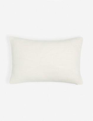 Lulu & Georgia Ines Linen Lumbar Pillow, Oatmeal