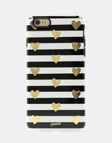 Sonix Inlay Case for iPhone 6/6S Plus - Heart Stripe Gold