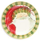 Vietri Old St. Nick Dinner Plate