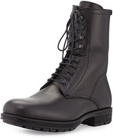 Aquatalia Hayden Weatherproof Leather Ankle Boot, Black