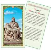 Gifts by Lulee Prayer of Widows and Widowers Holy Card Blessed By His Holiness Pope Francis