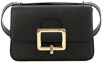 Bally Janelle Leather Bag With Maxi Metal Buckle