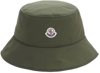 Moncler Wide Brim Nylon Bucket Hat