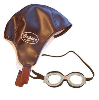 Racing Set Cap and Goggles
