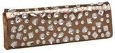 Metallic Clutch with Stones