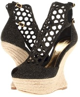 Alexander McQueen 321640WHAH3 (Gold/Black) - Footwear