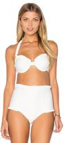 For Love & Lemons St. Lucia Bikini Top
