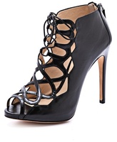 Tied Up Heeled Sandals