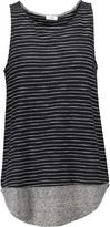 Vince Striped slub cotton tank