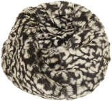 Topshop Leopard Fur Snood