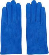 Loewe Blue Suede Gloves