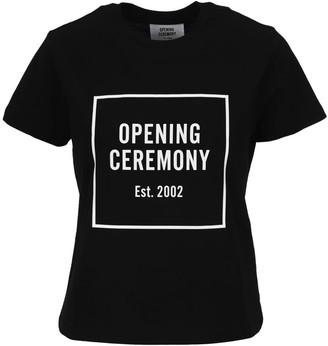 Opening Ceremony Box Logo Fem Fit Tee Optic