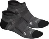 Saucony XP FlexTemp No-Show Socks - 2-Pack, Below the Ankle (For Men and Women)