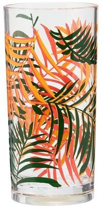 Indigo Palms Acrylic Highball Glass Set Of 4