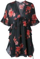 IRO floral tea dress - women - Cotton/Viscose - 36