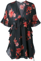 IRO floral tea dress - women - Cotton/Viscose - 38