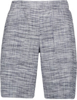 Theory Figamore stretch linen-blend shorts