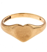 Annina Vogel Gold Heart Signet Ring