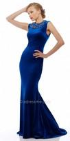 Nika Gale Beaded Evening Dress