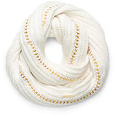 Michael Kors Chain-Embellished Infinity Scarf