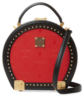 MCM Studded Shoulder Bag