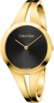 Calvin Klein K7W2S511 Addict gold-plated stainless steel watch