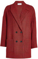 RED Valentino Printed Coat with Wool